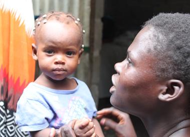 Imagen de intervención en 2007 en Haití