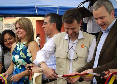 Imagen de intervención en 2007 en Ecuador