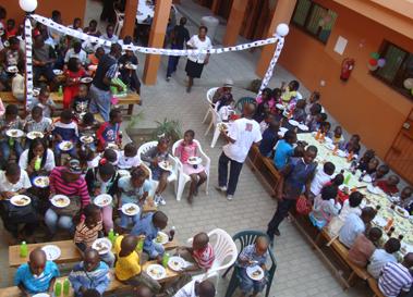 Imagen de intervención en 2008 en Mozambique