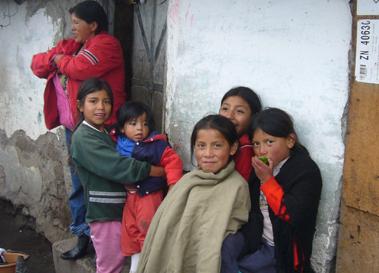 Imagen de intervención en 2008 en Ecuador