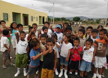 Imagen de intervención en 2009 en Ecuador