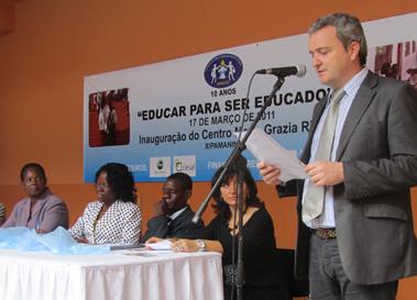 Imagen de intervención en 2009 en Mozambique