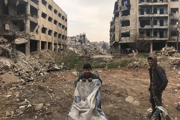 7 años de la guerra en Siria