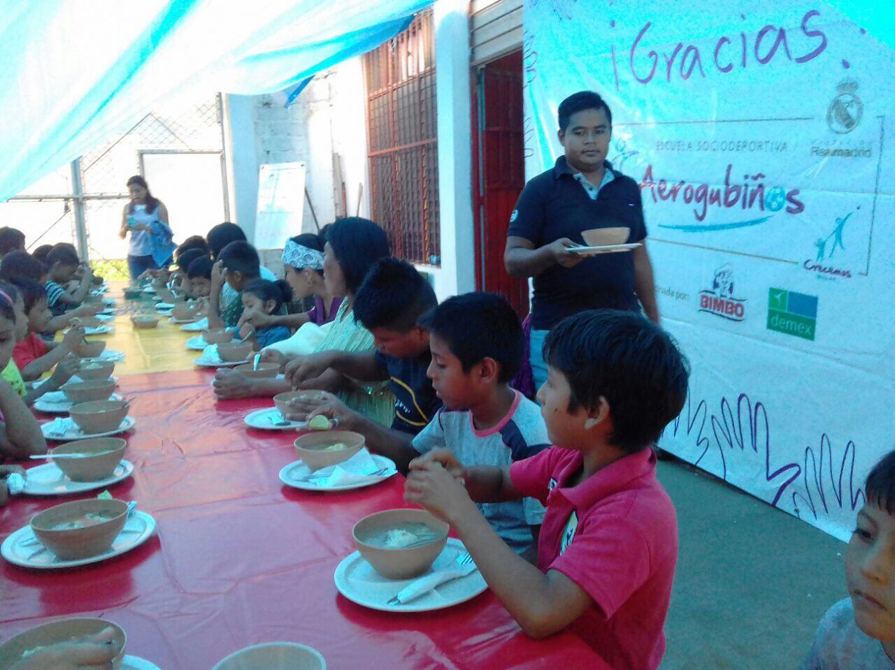 Infancia y alimentación Terremoto México