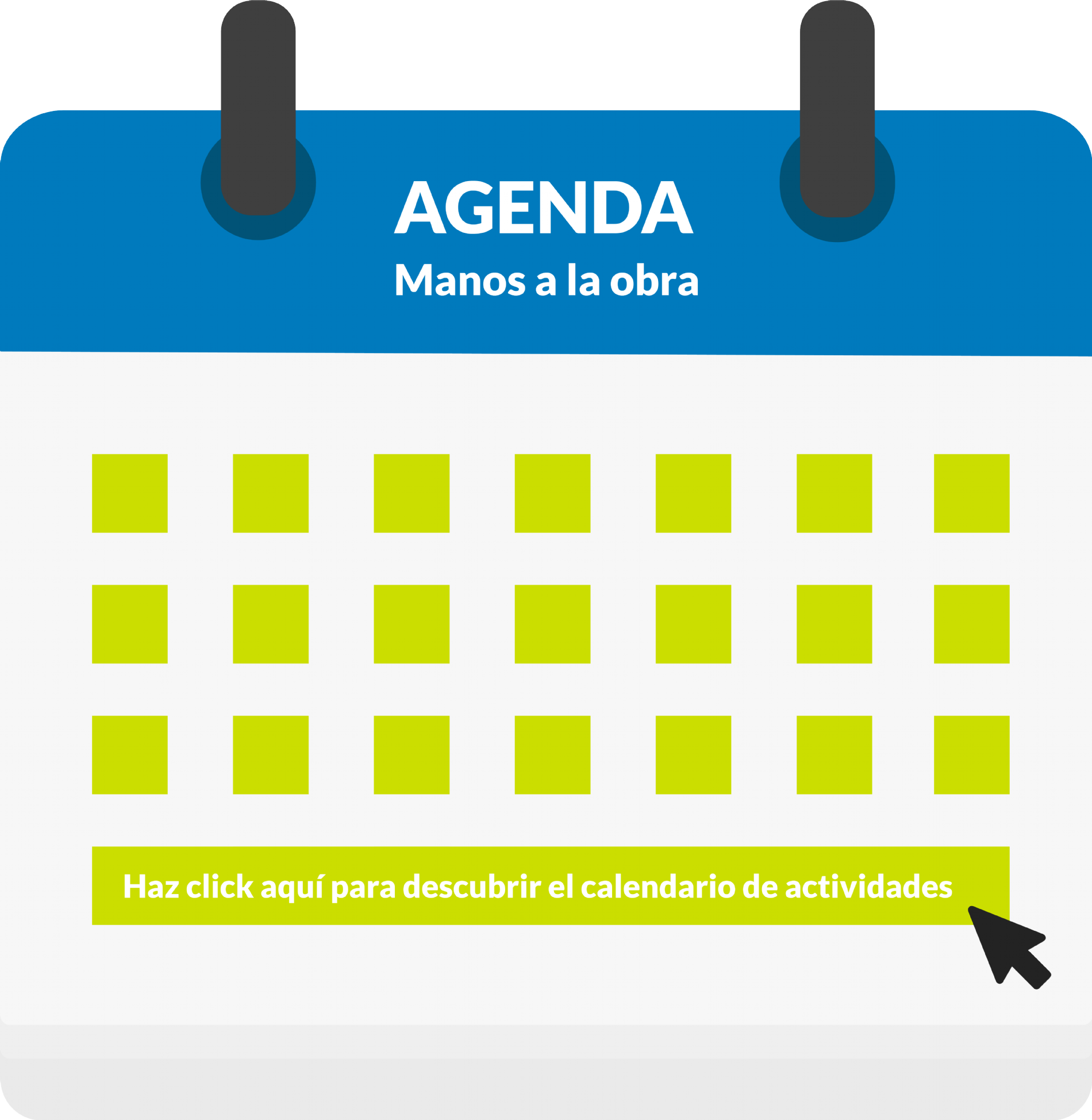 Agenda Campaña Manos a la Obra 2018