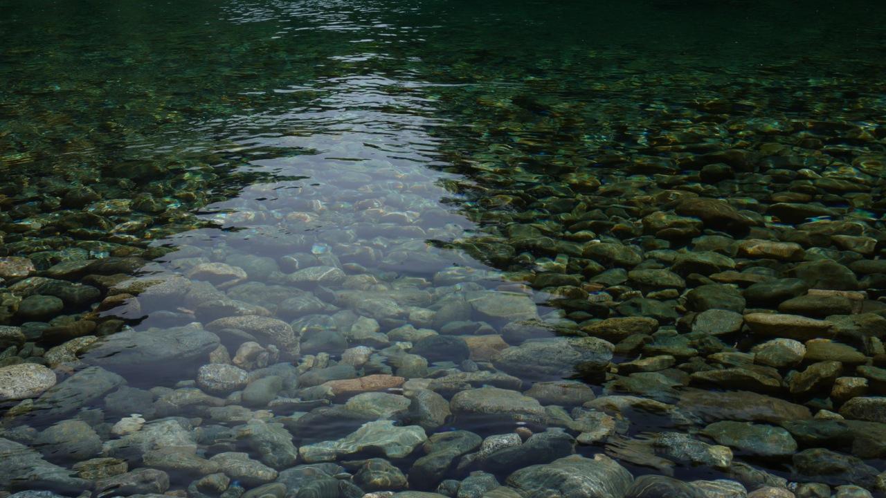 Agua Río los Baos