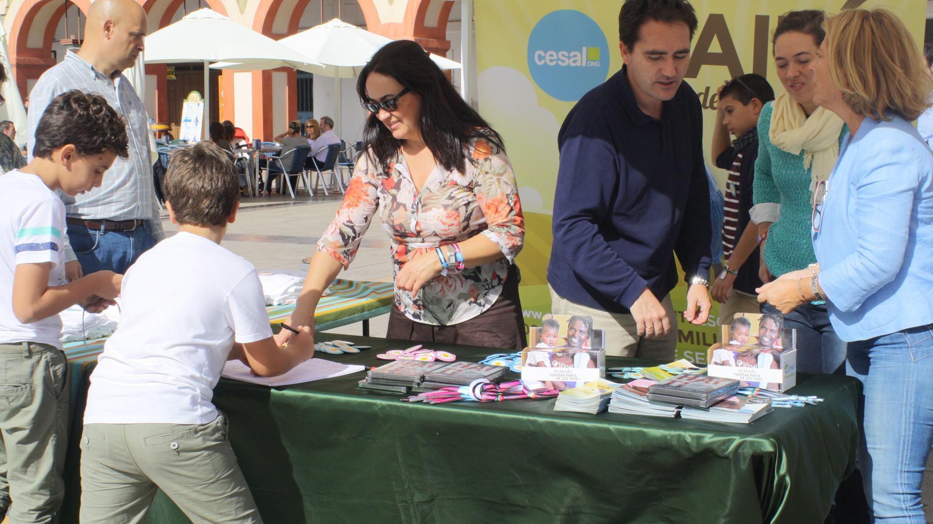 Actividades sensibilización Andalucía