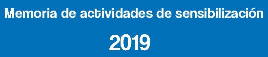 Memoria de Actividades Baleares 2019