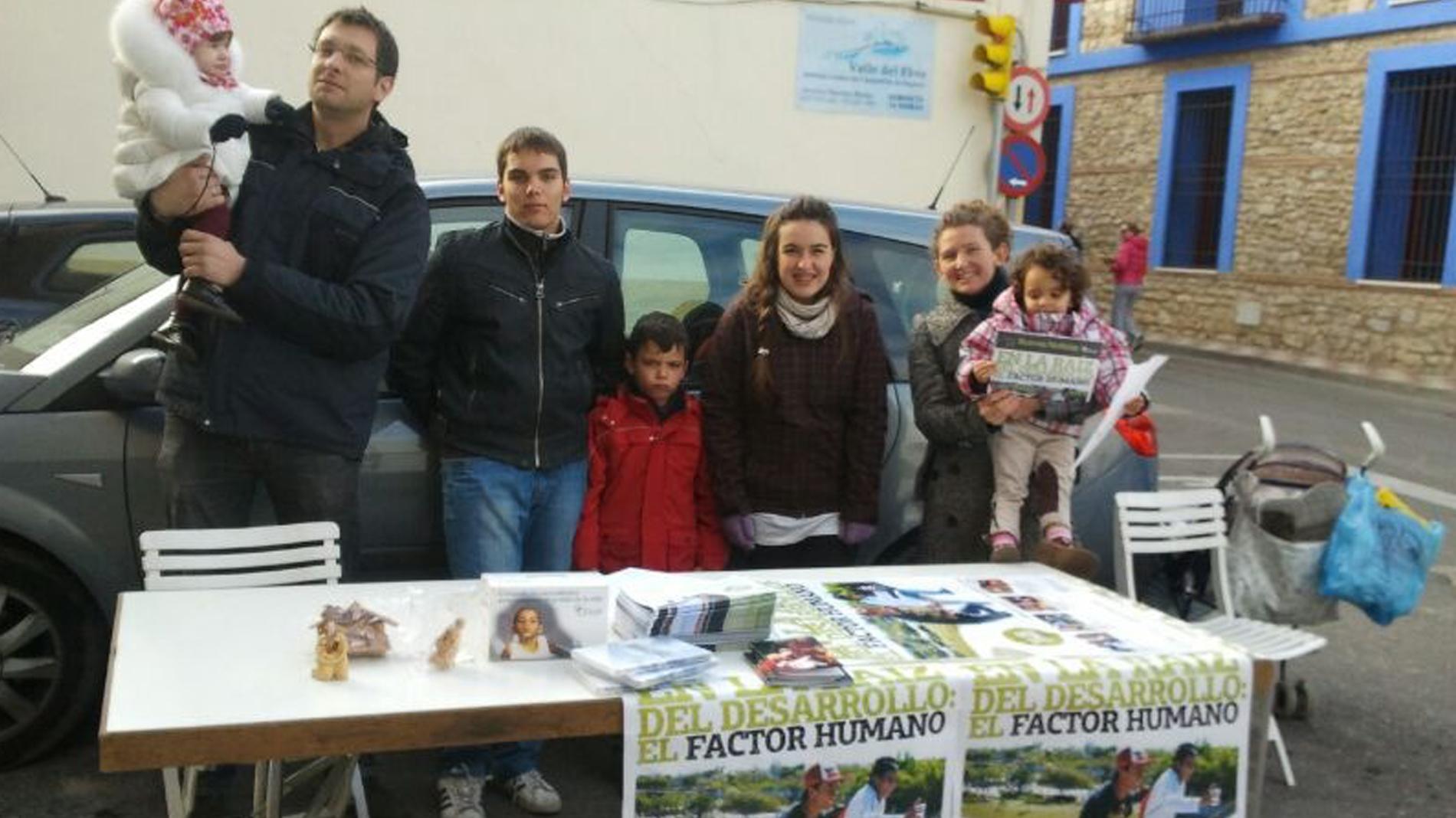 Actividades sensibilización Aragón