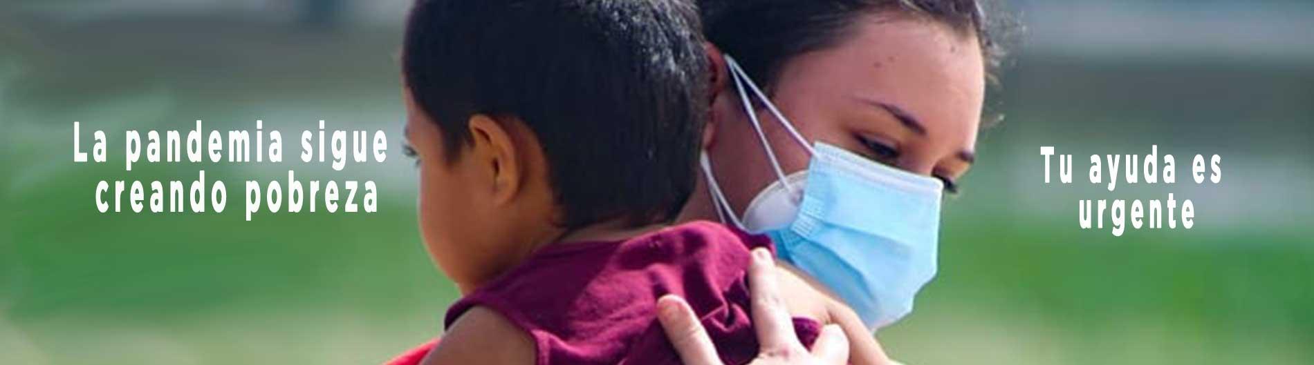 coronavirus pobreza ayuda dona solidaridad socios