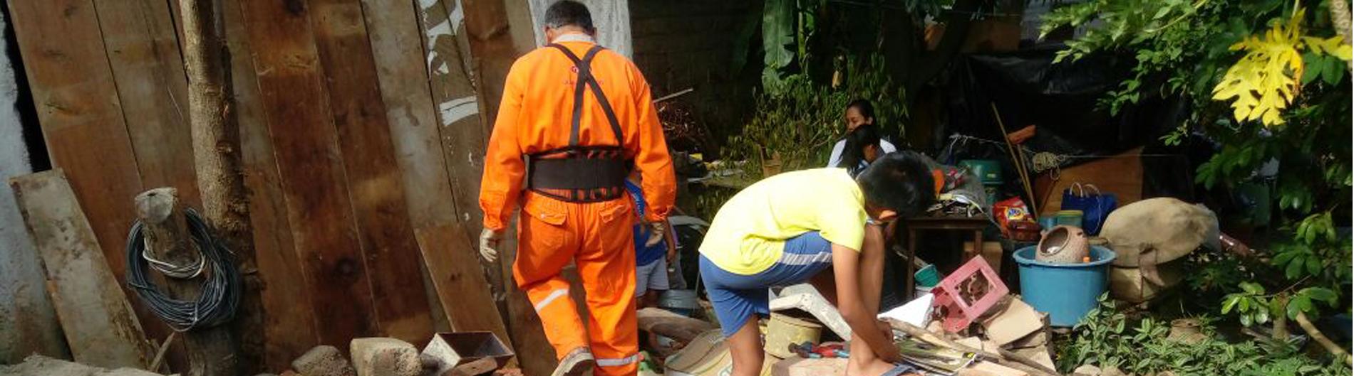 Destrucción en México Terremoto