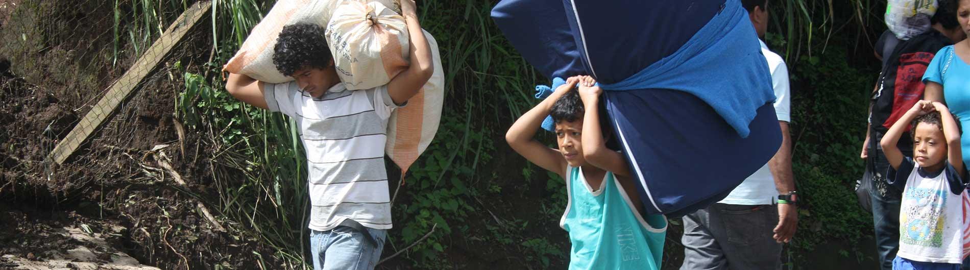 coronavirus emergencia tormentas amelia cristobal el salvador ayuda cesal