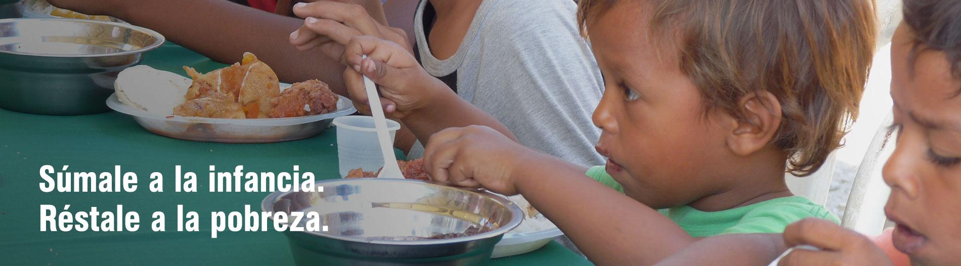 Venezuela hambre infancia pobreza migración campaña