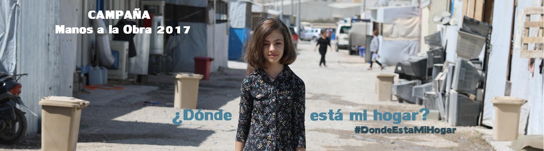 Campaña refugiados asilo siria