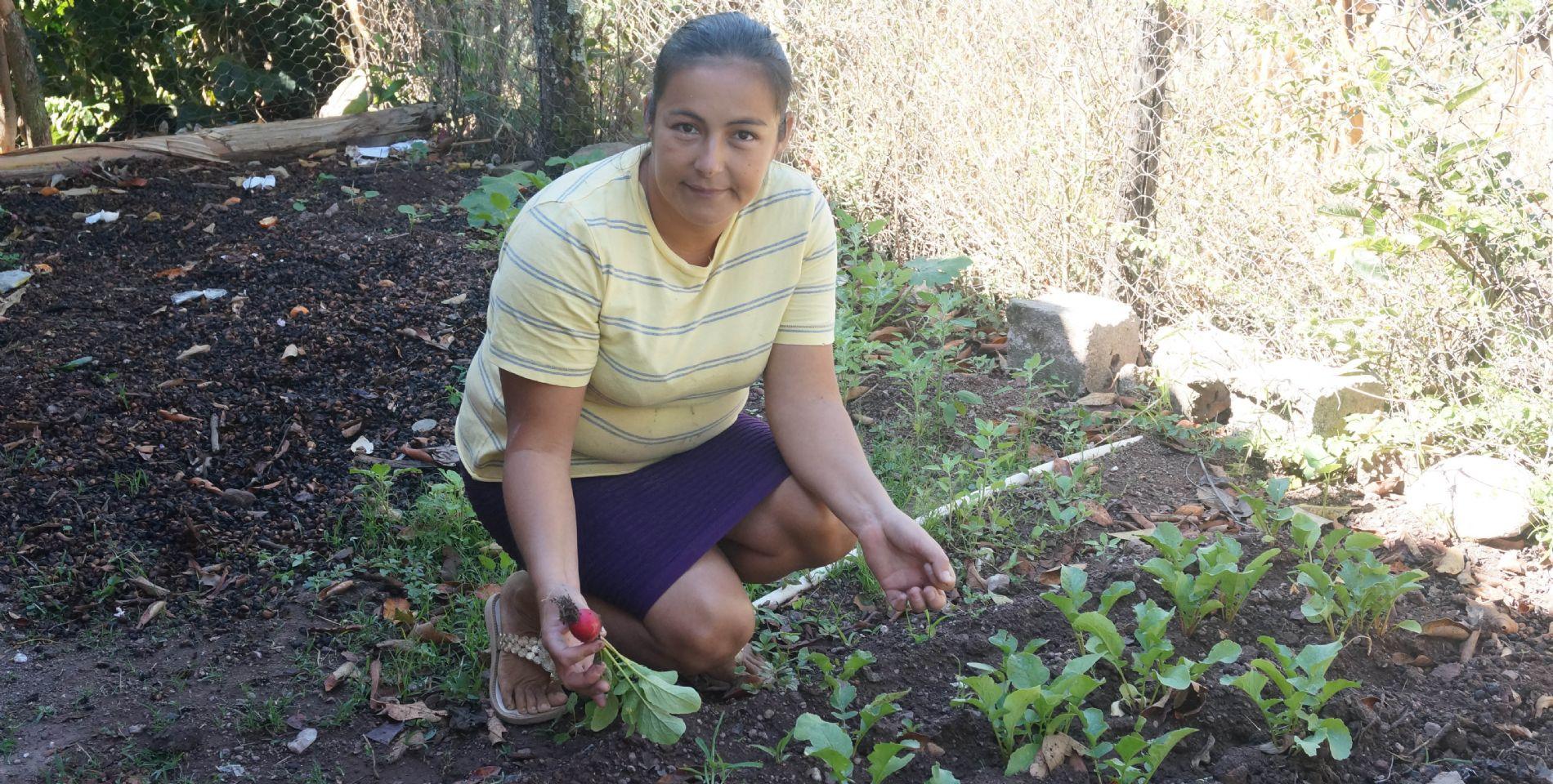 Beneficiaria convenio seguridad alimentaria Honduras