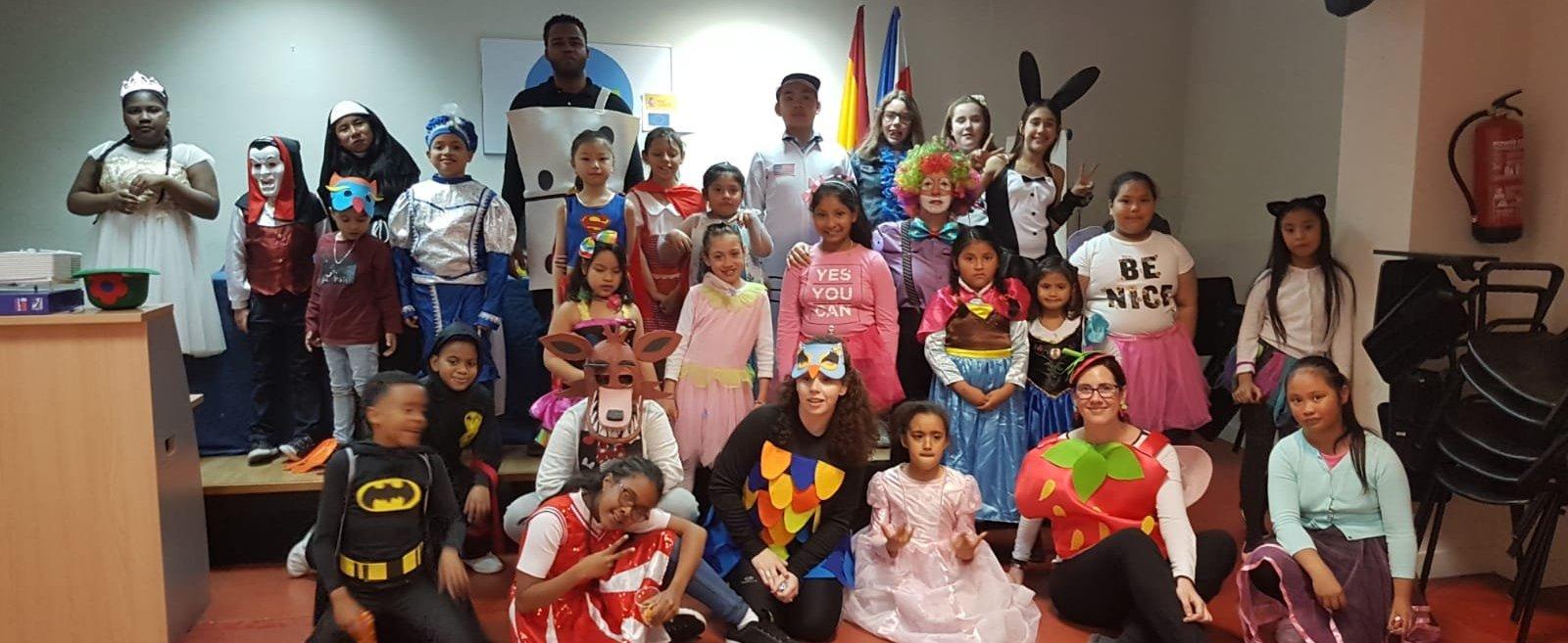 Carnaval en el CEPI de Tetuán
