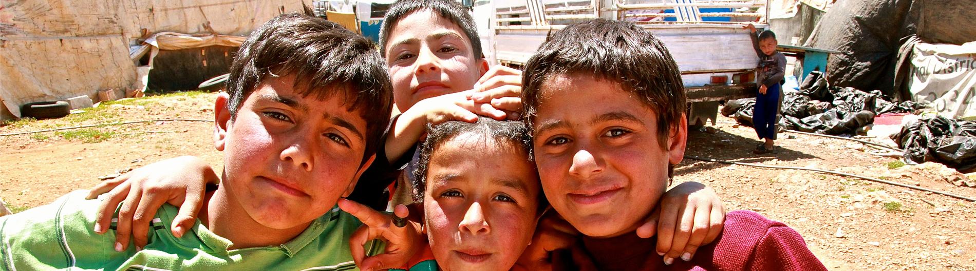 Agua potable refugiados Líbano