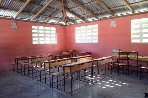 colegio vacío