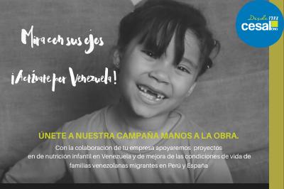 Empresas solidaridad RSC CESAL venezuela refugiados migrantes infancia nutrición