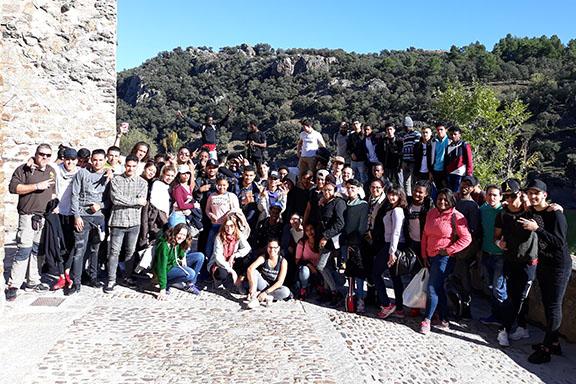 Excursión de los alumnos de CESAL en Buitrago de Lozoya