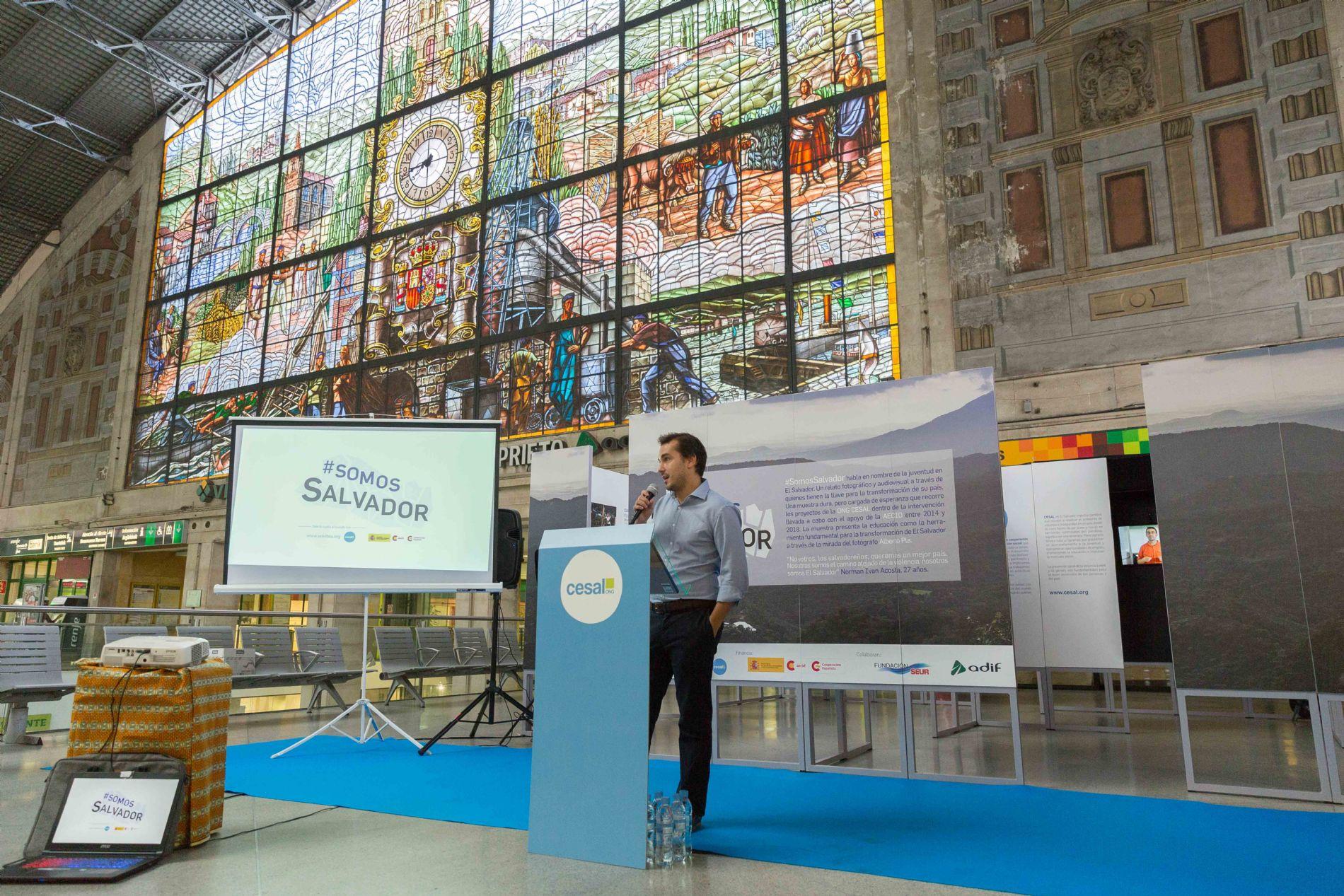 Inauguración Exposición SomosSalvador en Bilbao