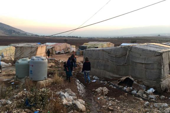 Tiendas refugiados Líbano
