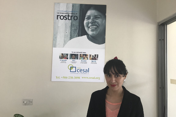 Foto de Voluntaria Ninoska Arredondo