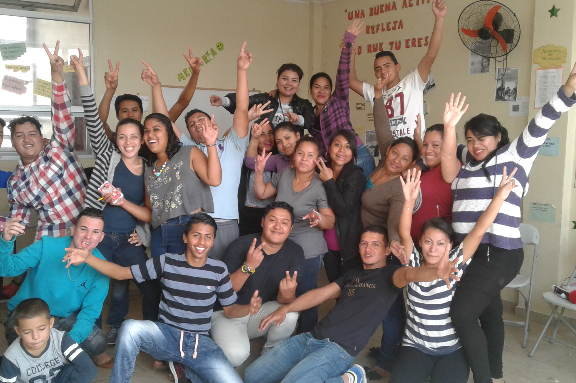 Graduación Jóvenes de Villa Franca Honduras