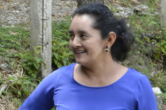 Foto Directora CEB Nueva Horizontes Lempira, Honduras