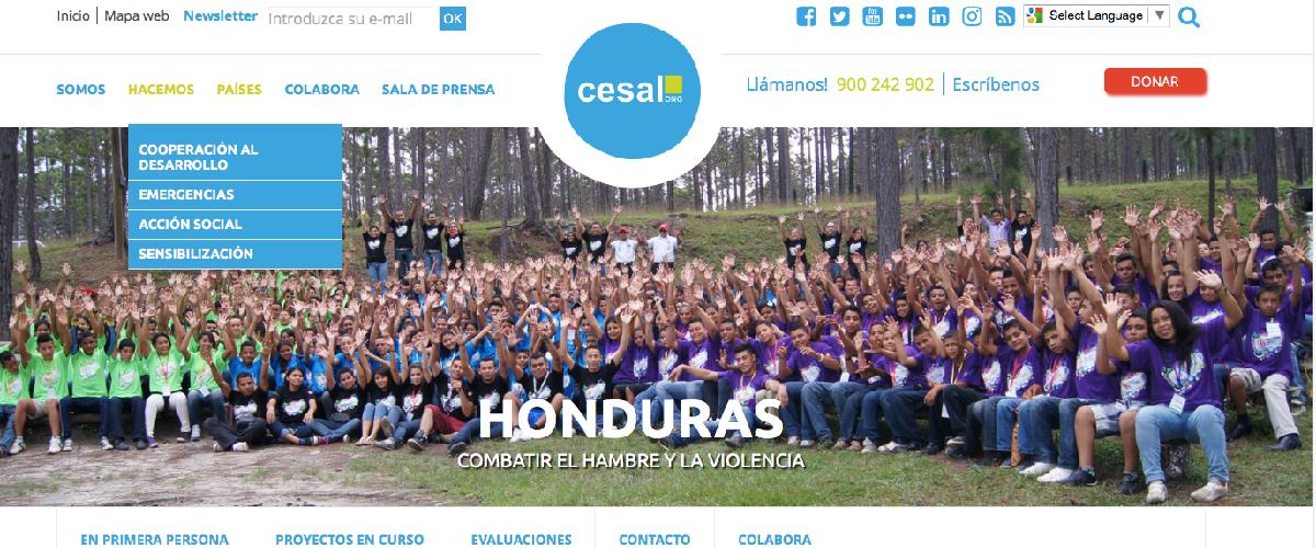 Foto nueva web CESAL