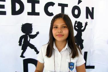 Denisse Castro, Centro Escolar Buena Vista, Primer Lugar en Categoría Juvenil