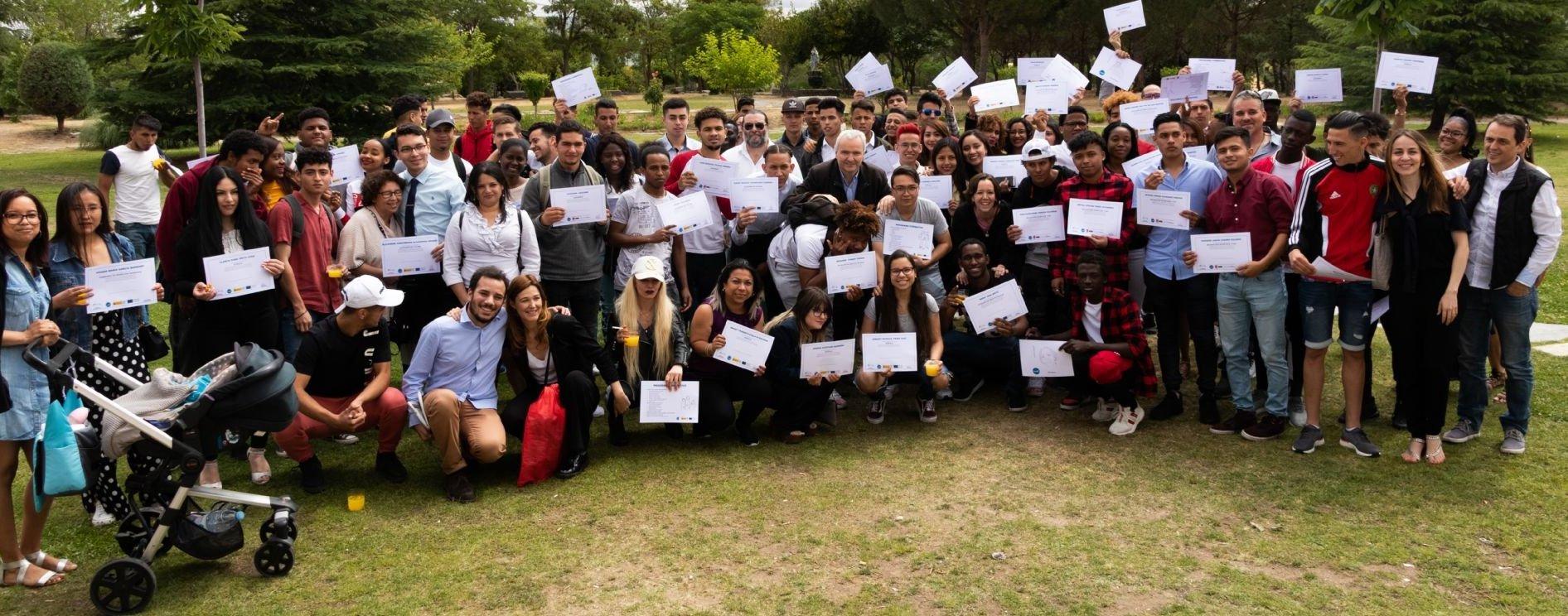 Graduación de los cursos de formación de la ONG CESAL en España 2019