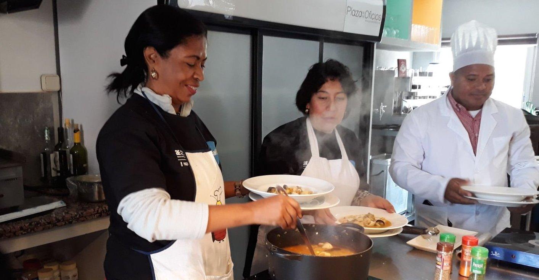 Curso de cocina para mayores de 40 años en el CEPI de Tetuán