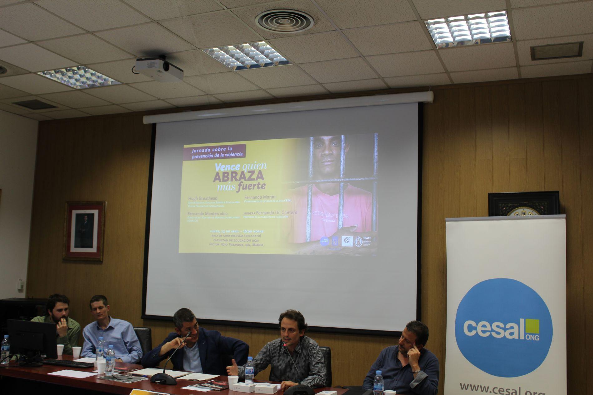 Conferencia en la Universidad Complutense de Madrid