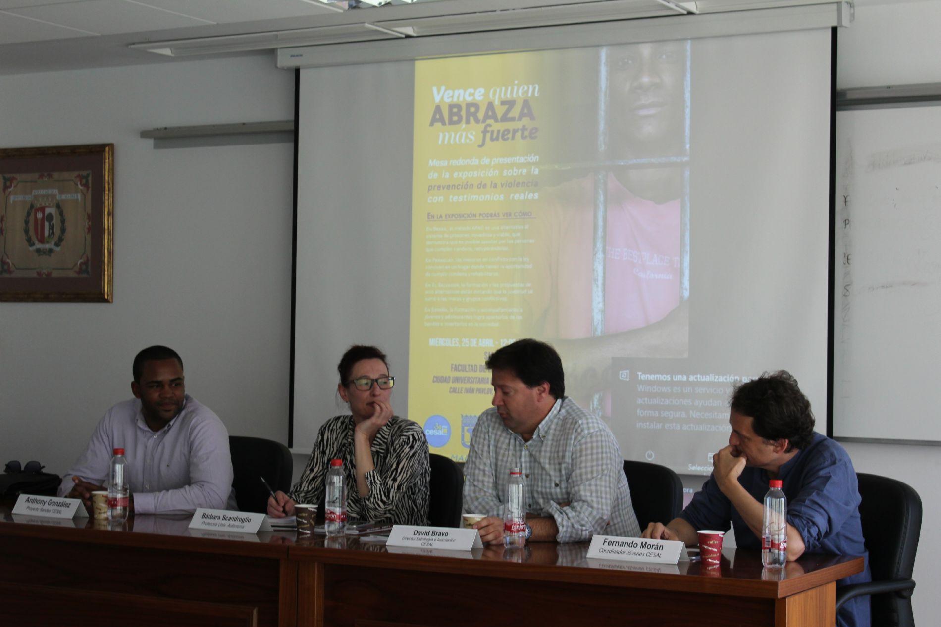 Conferencia en la Universidad Autónoma de Madrid