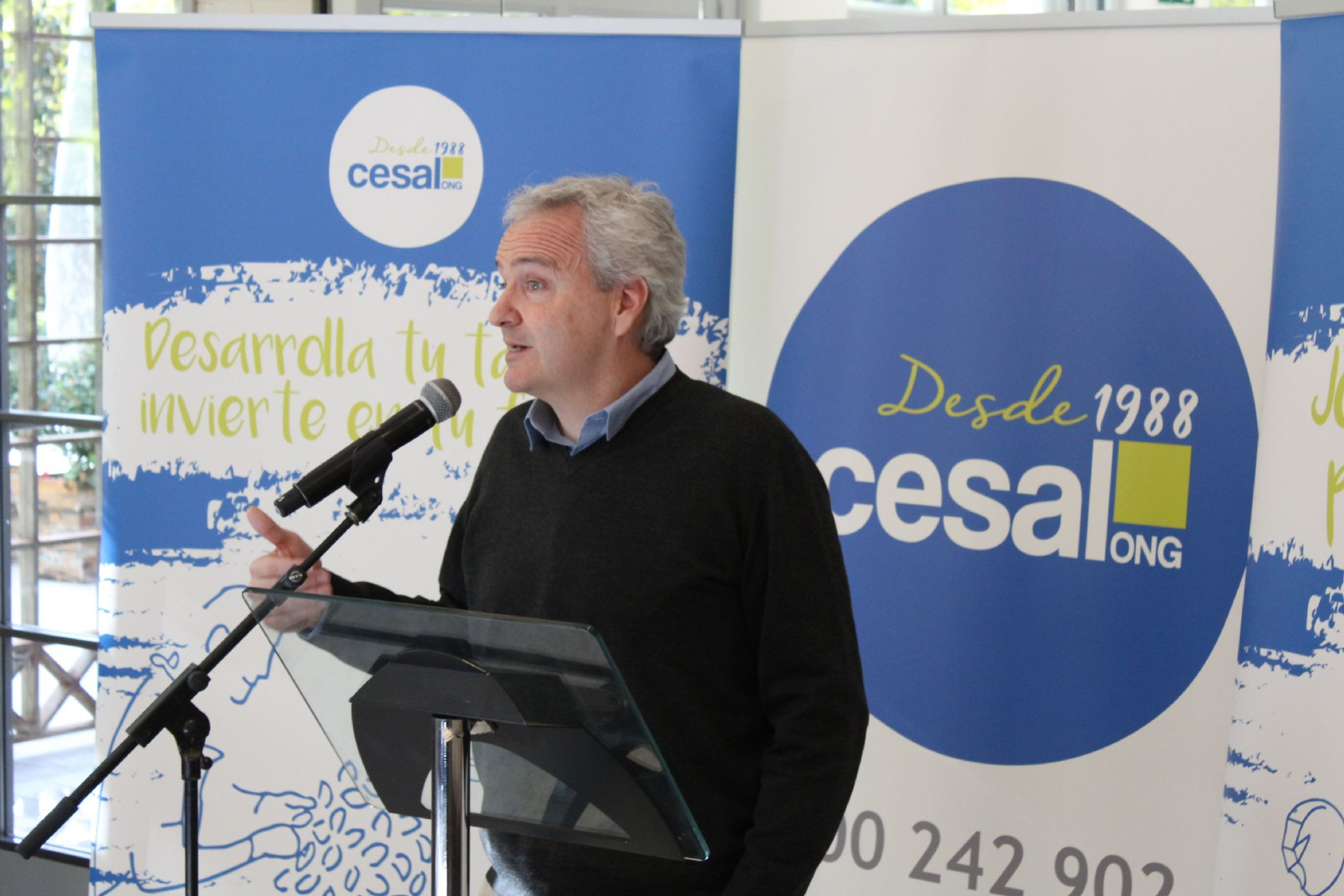 Pablo Llano, director de la ONG CESAL