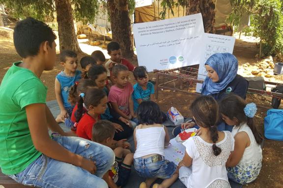 Sensibilización sobre el agua en el Líbano