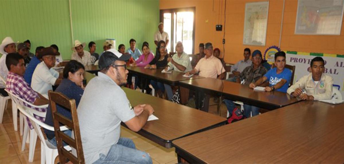 Grupo de 27 personas en jornada de capacitación_occidente_Honduras_2018