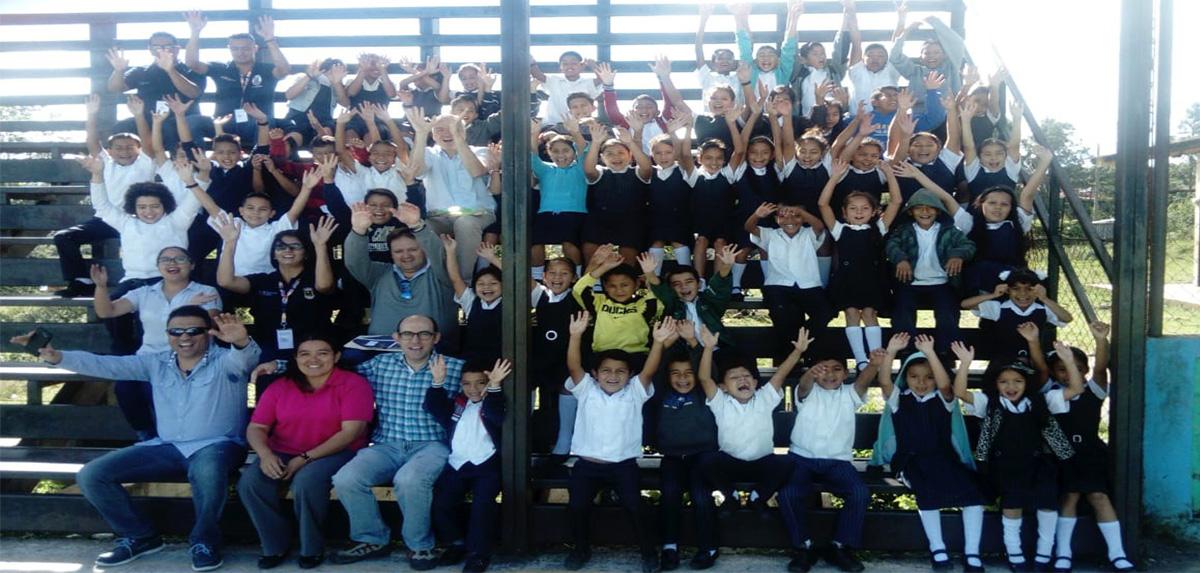 Niños y niñas de la Escuela San José_Honduras_2018