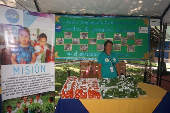 Participación de CESAL en la Expo Copán 2018