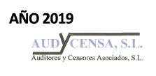 Informe de Auditoría 2019
