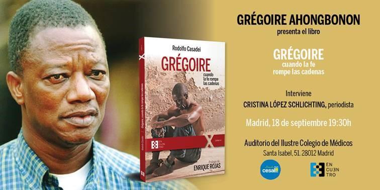 Invitación presentación grégoire