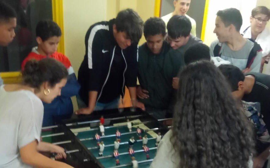 Jornada deportiva en el CEPI de Tetuán
