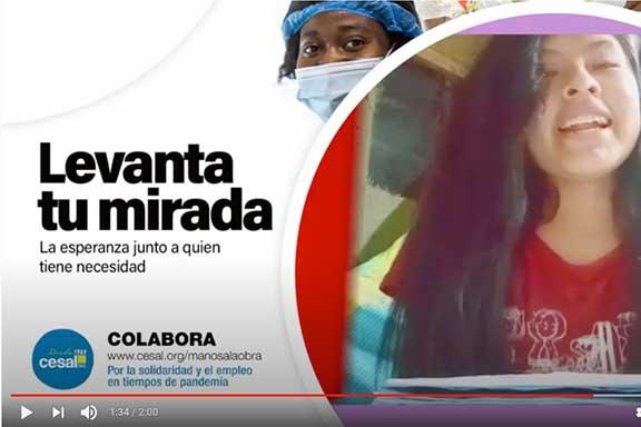 manos a la obra levanta tu mirada coronavirus pobreza formación empleo
