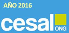 Memoria de Actividades 2016 de CESAL
