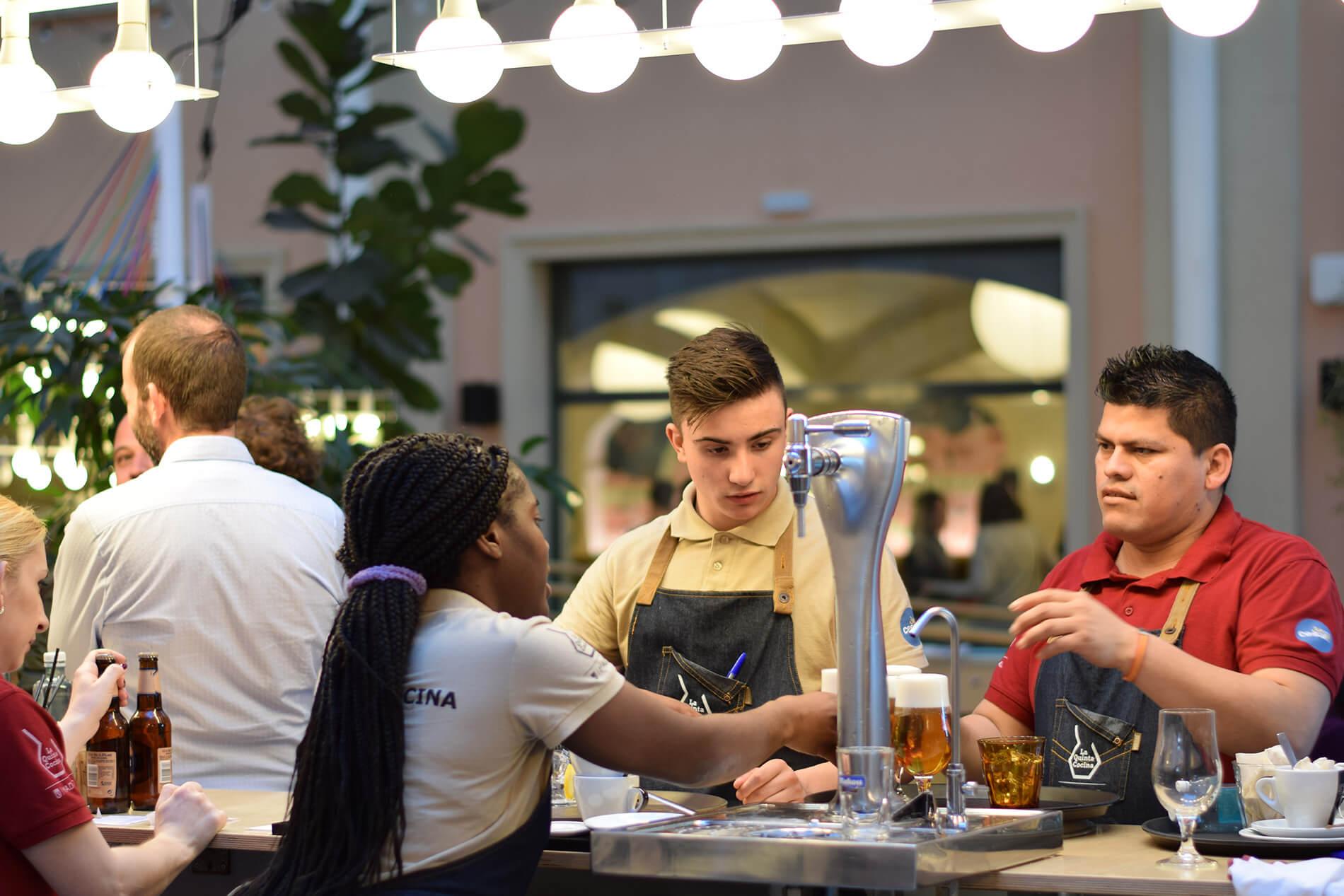 Escuela de hostelería La Quinta Cocina, en el Espacio Abierto La Quinta de los Molinos