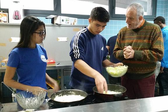 Cocina intergeneracional