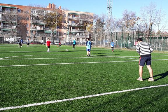 Jornada deportiva cursos de formación de CESAL