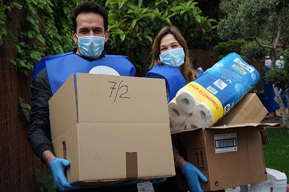 Reparto de alimentos Coronavirus
