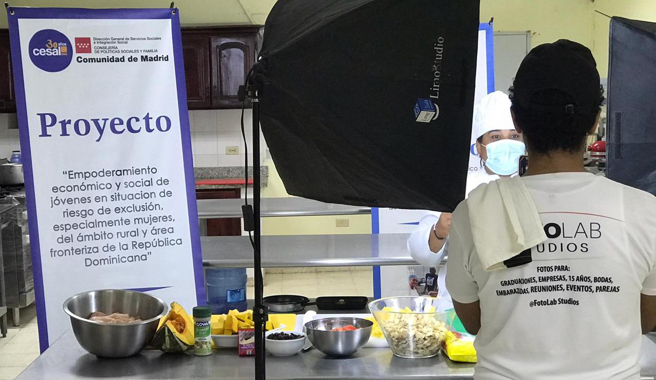 Activación de cursos virtuales en Dominicana